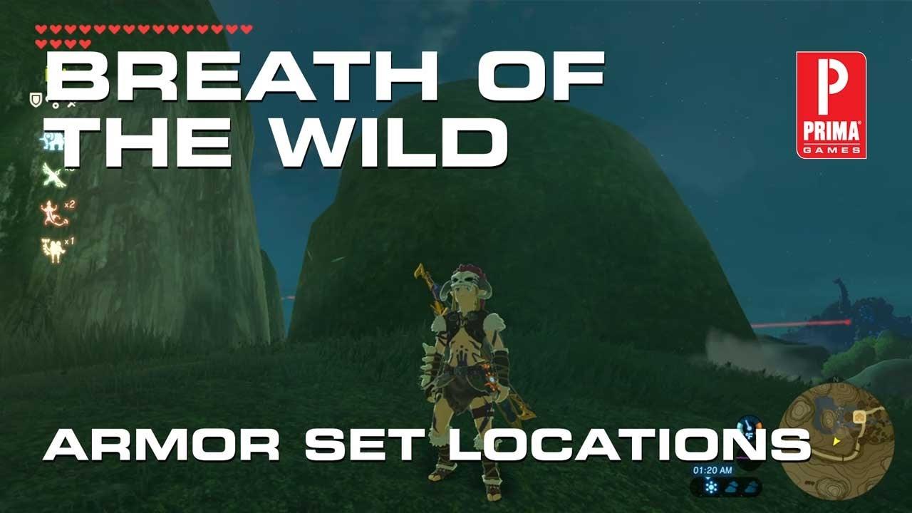 Zelda: Breath of the Wild - Armor Sets, Locations, Stat Bonuses
