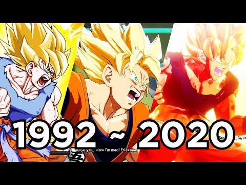 Evolution Of Son Goku's Super Saiyan Awakening; 29 Games (1992 To 2020)