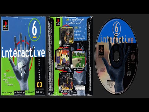 PlayStation Interactive CD Sampler Disc - Volume 6