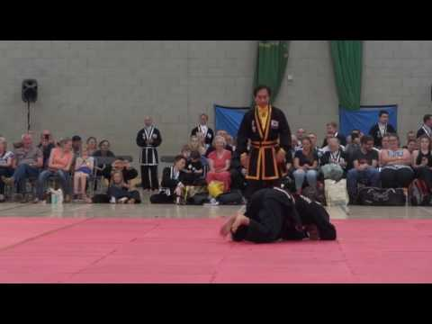 Self defence techniques performed by SSJKN Sung Jin Suh