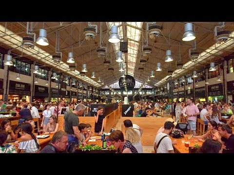 Lisbon Walk Tour - Time Out Market Lisboa at Mercado da Ribeira - Portugal