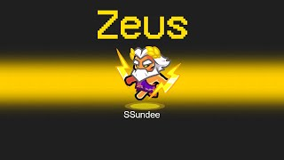 ZEUS IMPOSTER Mod in Among Us