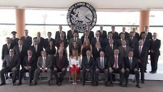 Gobernadora presencia informe de delegados federales 2017