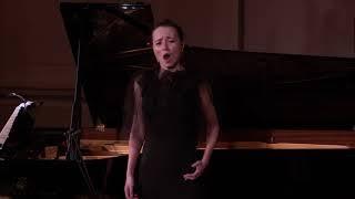 Fleur Barron, Julius Drake, Mahler, Kindertotenlieder, excerpt