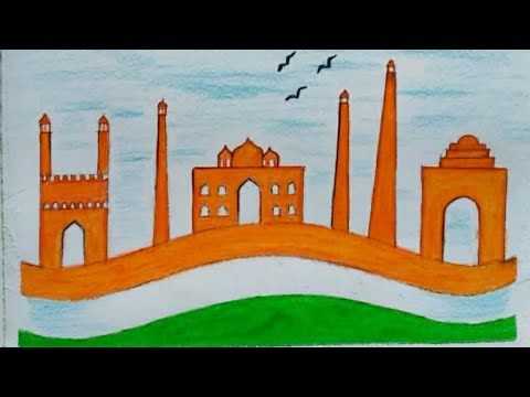 How To Draw Simple Republic Day Special Image For Kids Independence Day Drawing For Beginners Youtube Also republic drawing day available at png transparent variant. how to draw simple republic day special image for kids independence day drawing for beginners