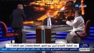 شيات يدافع على بيع الخمور و يحاول ضرب الشيخ حمداش بكأس