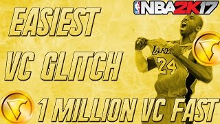 NBA 2K17 Vc Glitch: INSANE Fast & Easiest UNLIMITED VC GLITCH! Get TONS of Vc now! After patch 7 💰