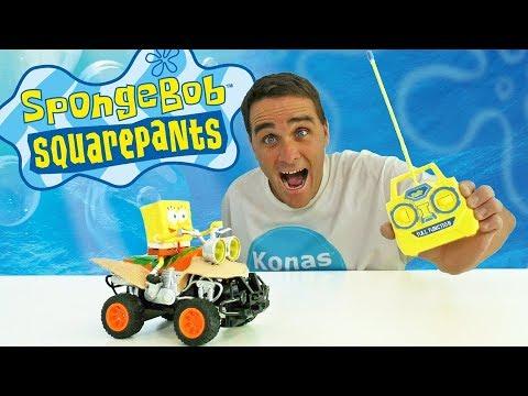Radio Controlled SpongeBob ATV ! || Toy Review || Konas2002
