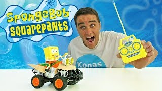 Radio Controlled SpongeBob ATV ! || Toy Review || Konas2002