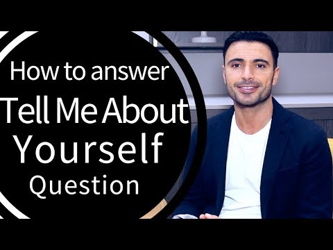 How to Answer: Tell Me About Yourself Question (Job Interview Questions Guide - Examples)
