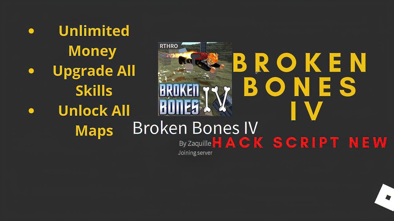 Roblox Broken Bones Iv Oof Youtube Roblox Broken Bones Iv Games Hack Script Infinite Money Unlock All Maps Upgrade All Skills Youtube