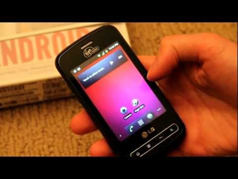 LG Optimus Slider Unboxing and Review