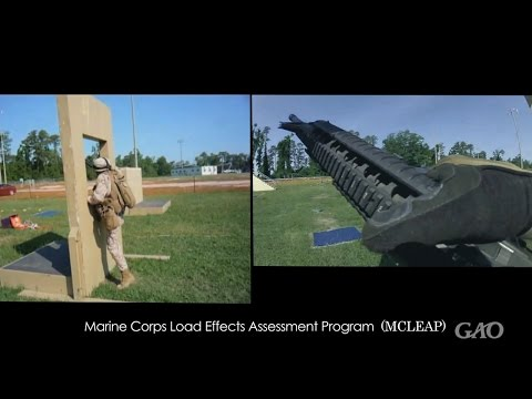 GAO: Marine Corps Assessment Course for Body Armor