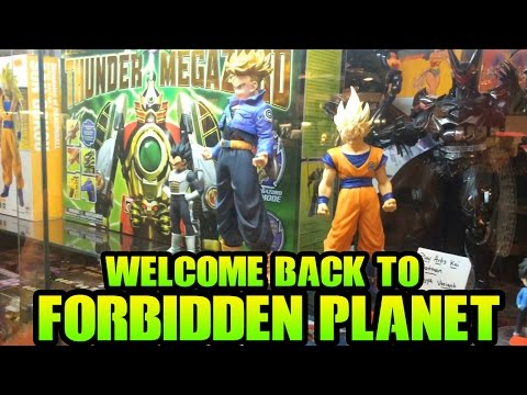 The Ultimate Comic/Anime Store! Welcome Back To Forbidden Planet