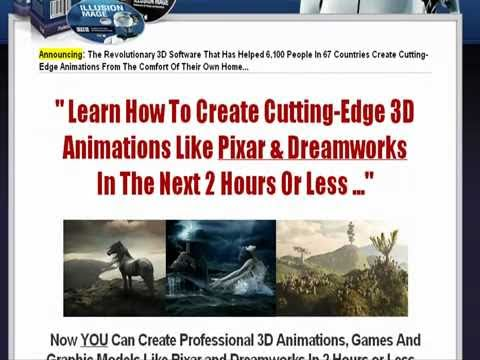ANIMATION 3D SOFTWARE SCAM  ILLUSION MAGE