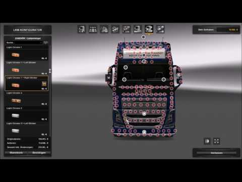 Euro Truck Simulator 2/ Volvo FH16 Tuning