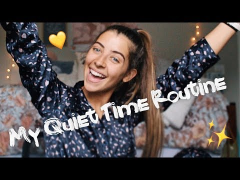 MY QUIET TIME ROUTINE - How I Read My Bible DAILY!!
