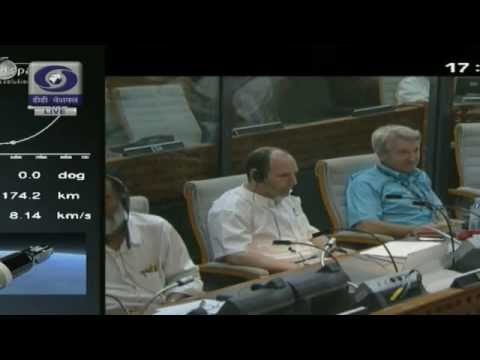 Launch of INSAT - 3D: LIVE from Kourou French Guyana