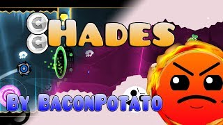 Geometry Dash - Hades 100% (DAILY, all coins) / By BaconPotato Video