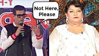 Karan Johar Shocking Reaction On Saroj Khan Casting Couch Statement
