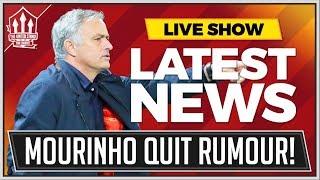 Mourinho Wants Out? Man Utd News Now
