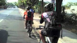 Manila to Batangas City Bike Ride