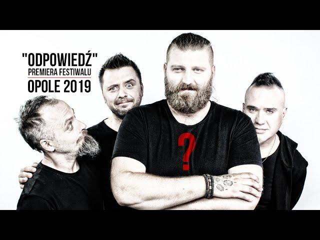 Szymon Wydra & Carpe Diem - Odpowiedź (Premiery Opole 2019)
