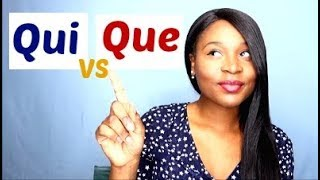 French Relative Pronouns - Qui and Que