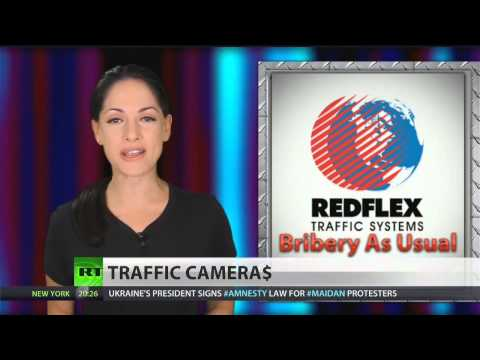 Redflex bribing cities to install surveillance cameras