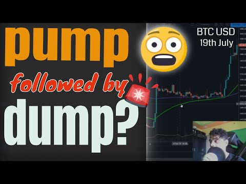Bitcoin Pump!! 🤑 Followed By Dump??? 😲 19th July 2019 BTC USD | Bitcoin Forecast Prediction