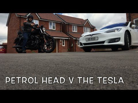 A Petrol Head, The Tesla And A Chap Named Bill