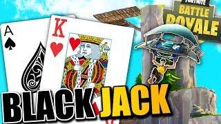 HITTING BLACKJACK on Fortnite INSANE Gameplay with BajanCanadian & Friends!