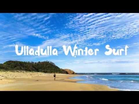 Ulladulla Winter Surf & Kangaroo kisses
