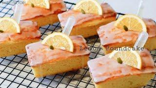 파운드케이크 상큼하고 향긋한 레몬 파운드 케이크만들기 …
