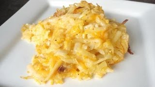 Make Your Own: Cracker Barrel Hashbrown Casserole