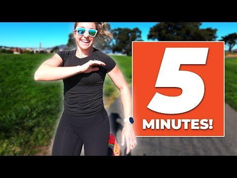 Make Running Easier in 5 Minutes