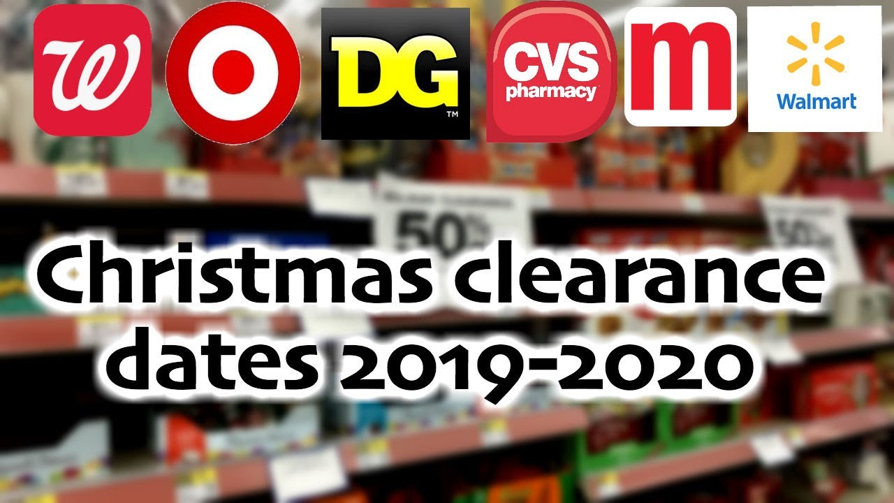 Christmas clearance 2019 2020 + haul!   YouTube