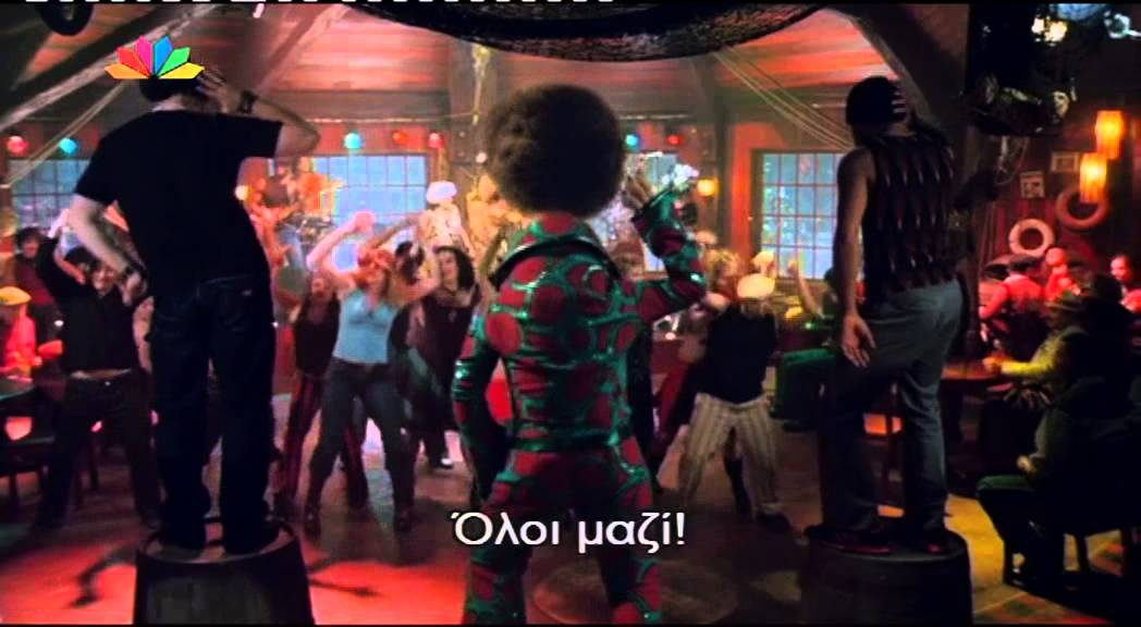 Scooby Doo 2 Monsters Unleashed Dance Scene Greek Subs Youtube