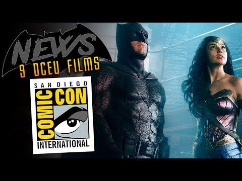 BATNEWS:  9 DC Cinematic Universe Movies COMING + Ben Affleck RUMORS Debunked by BATMAN!