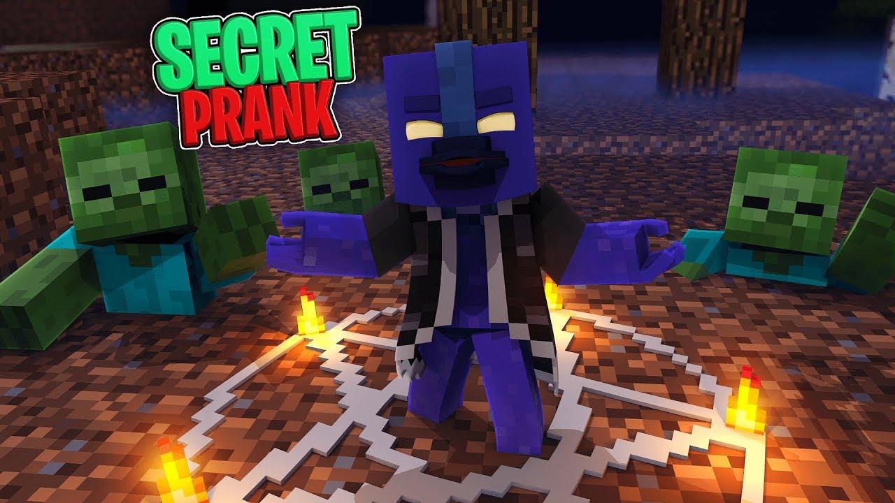 Crazy Minecraft - SECRET RITUAL SUMMONS ZOMBIE HORDE