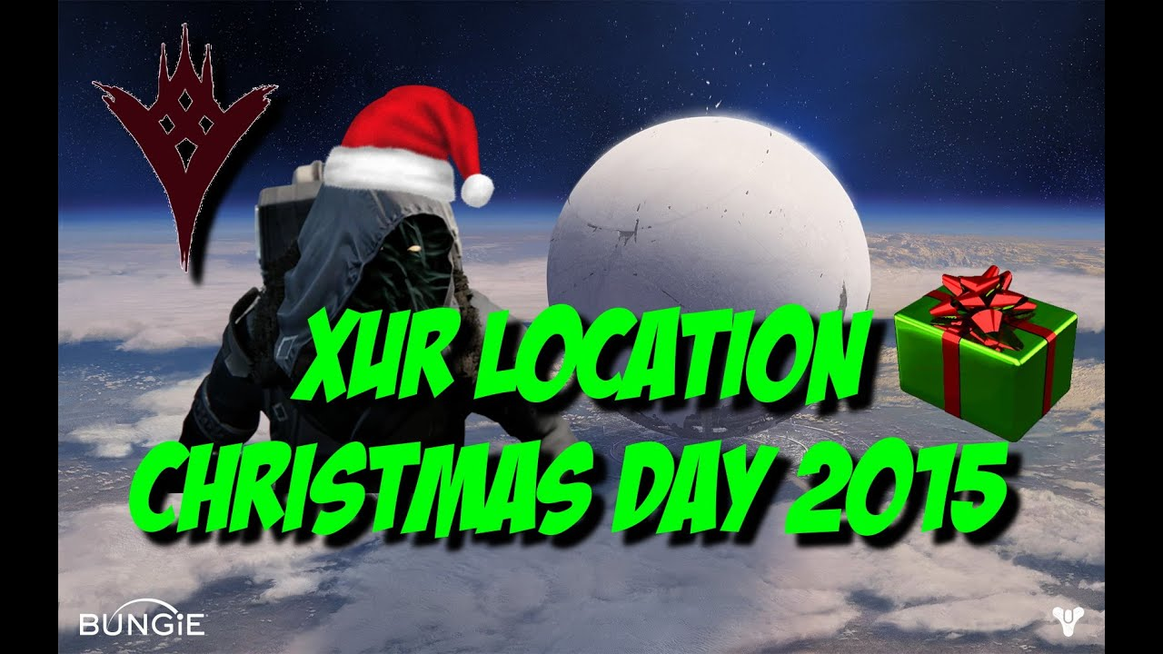 Destiny TTK - Xur 2.0 Location - Christmas Day 2015 - YouTube