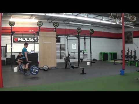 Joshua Boyle - CrossFit Open 16.4