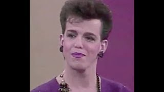 """""""Androgyne 1984"""" - Bill Boggs interviews an androgynous model"""