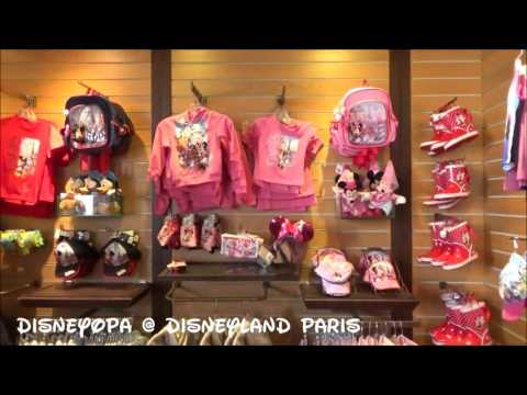 Disneyland Paris General Store Hotel Shop Cheyenne walkthrough DisneyOpa