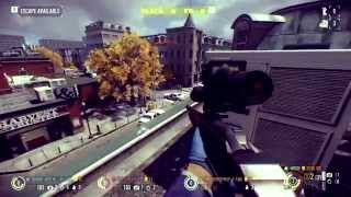 PAYDAY 2: Bank Heist Sniper Gameplay.