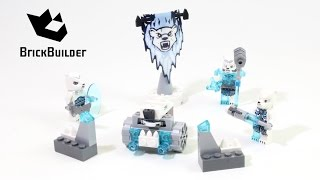 lego Chima - Ice Bear Tribe Pack 70230 Review (обзор на русском)
