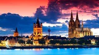 #395. Кельн (Германия) (потрясяющее видео)(Самые красивые и большие города мира. Лучшие достопримечательности крупнейших мегаполисов. Великолепные..., 2014-07-02T00:59:45.000Z)