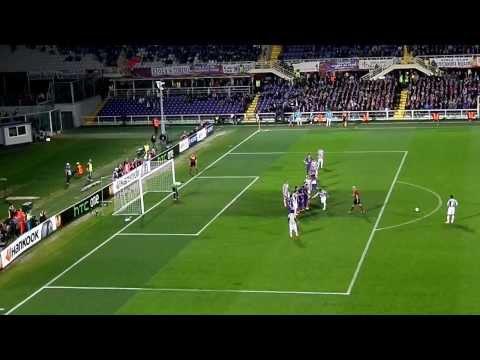 FIORENTINA vs JUVENTUS 0-1 20/03/2014 Goal Andrea Pirlo (live)