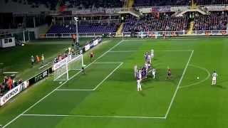 FIORENTINA vs JUVENTUS 0-1 20 / 03 / 2014 Goal Andrea Pirlo (live)