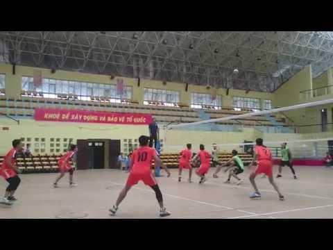 Đại Học Vinh vs Đại Học Nông Nghiệp (Bóng chuyền sinh viên toàn quốc 2015)